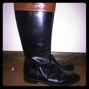 Michael Kors Handmade Italian Leather Riding Boots